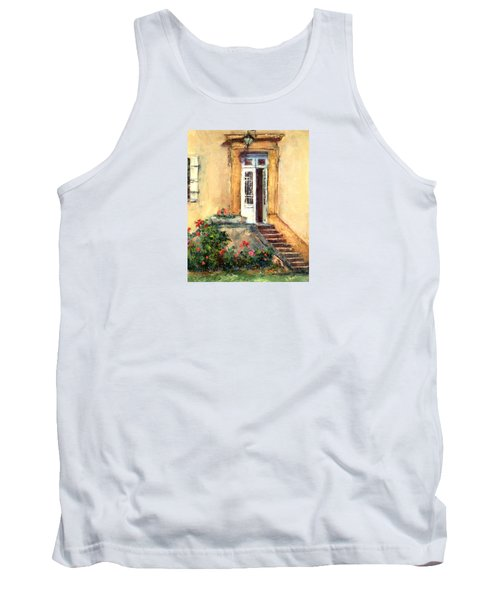 Chateau Le Pinacle Tank Top by Jill Musser