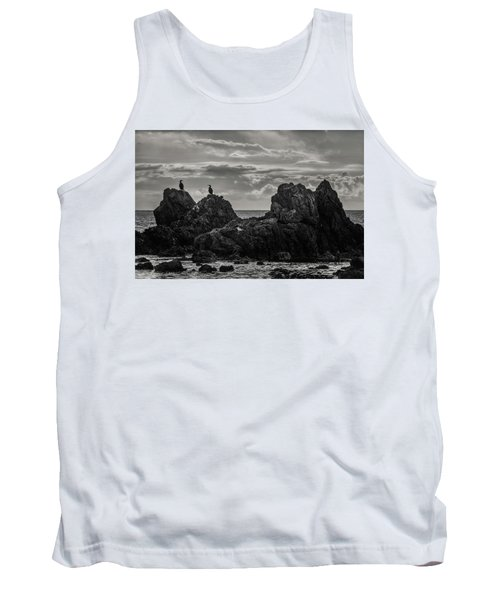 Chatting On Rocks Tank Top