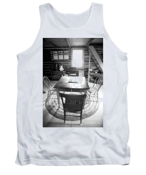 Checkers Tank Top by Randall Cogle