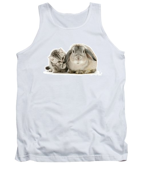 Checking For Grey Hares Tank Top