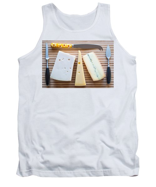 Tank Top featuring the photograph Cheese Board by Ari Salmela