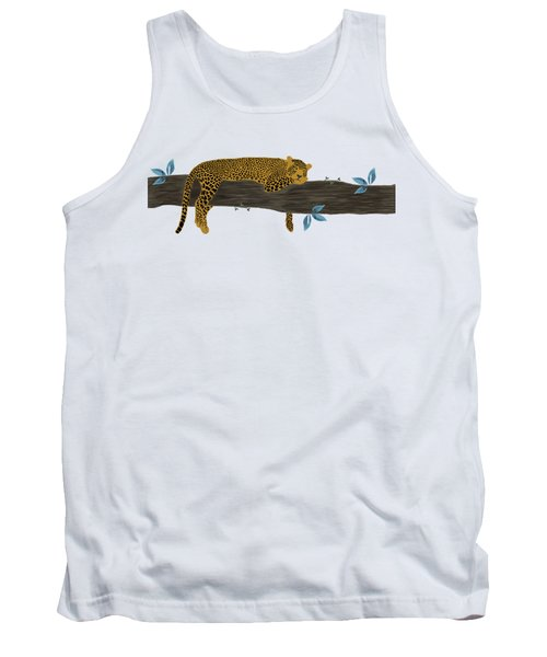 Cheetah Chill Tank Top by Priscilla Wolfe