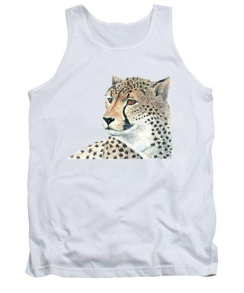 Cheetah Tank Top by Katerina Kirilova
