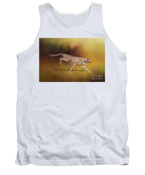 Cheetah Running Tank Top