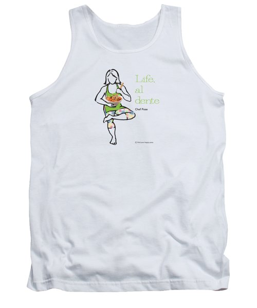 Chef Pose Tank Top