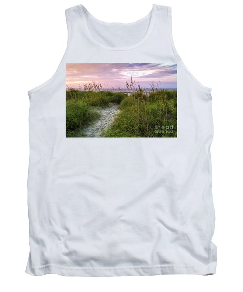 Cherry Grove Beach Scene Tank Top