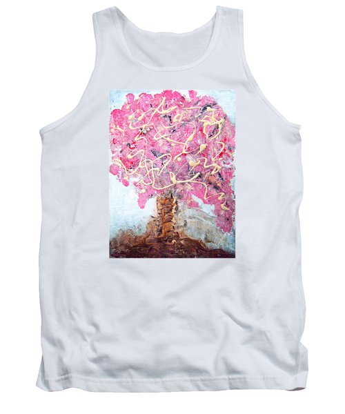 Cherry Tree By Colleen Ranney Tank Top