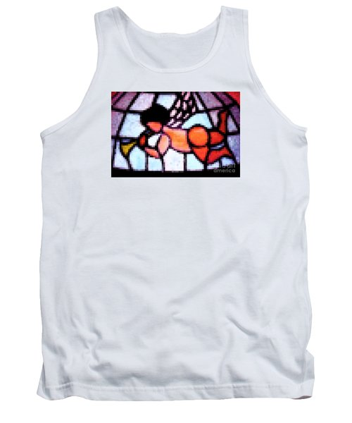 Cherub Art  Tank Top