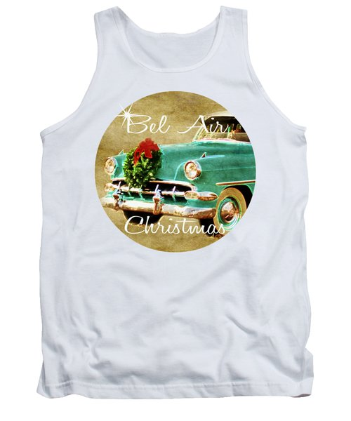 Chevy Bel Air For Christmas Tank Top