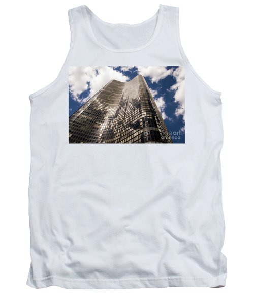 Tank Top featuring the photograph Chicago Building by Zawhaus Photography
