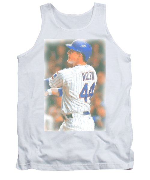 Chicago Cubs Anthony Rizzo 2 Tank Top