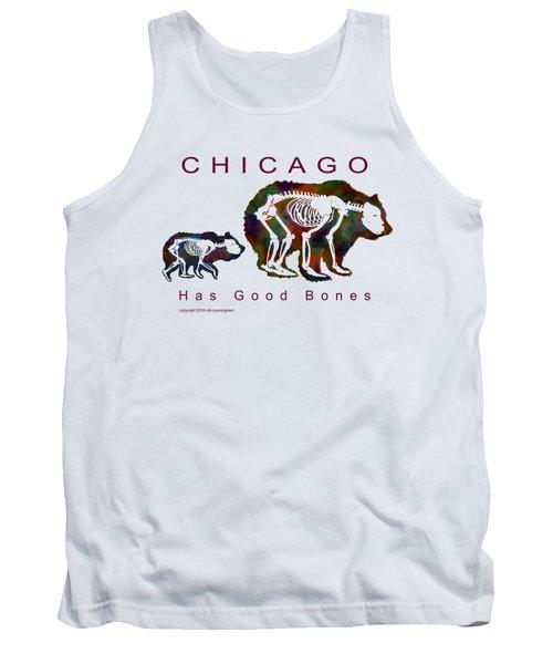Chicago Has Good Bones Watercolor Tank Top