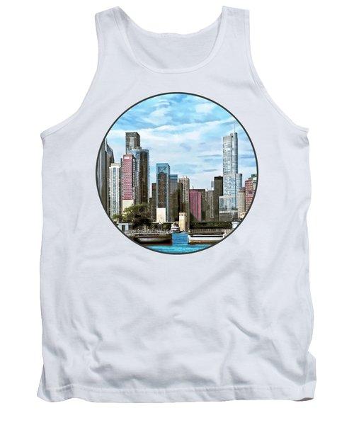 Chicago Il - Chicago Harbor Lock Tank Top