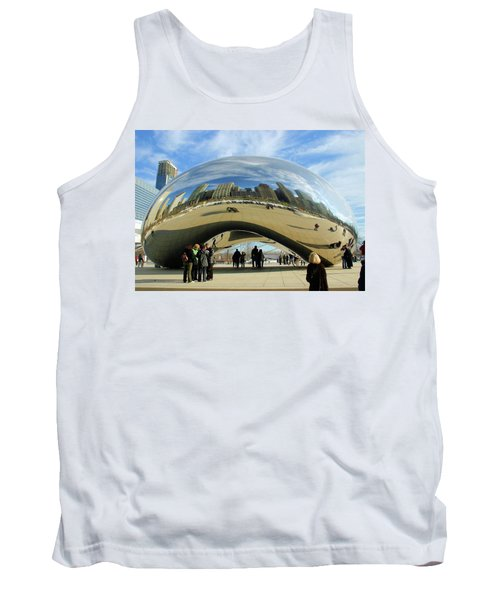 Chicago Reflected Tank Top by Kristin Elmquist