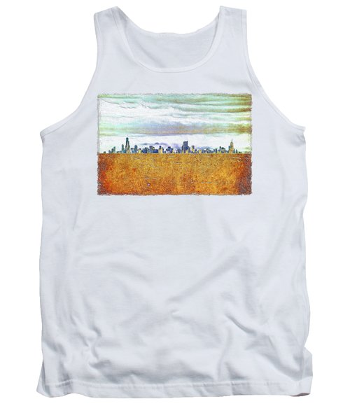 Chicago Skyline Tank Top by Di Designs