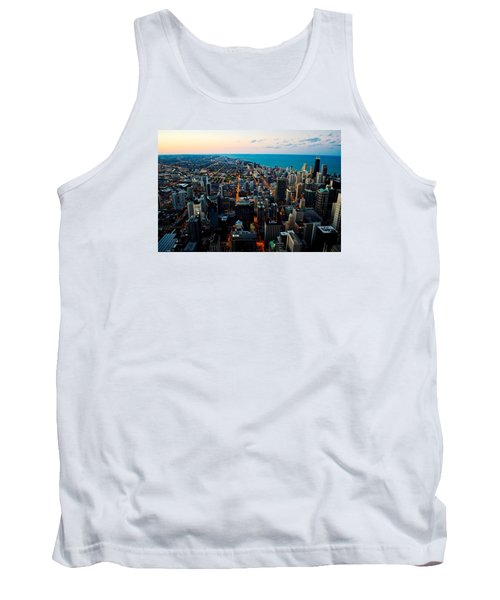 Chicago Skyline Tank Top by Richard Zentner