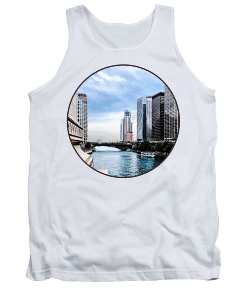 Chicago - View From Michigan Avenue Bridge Tank Top