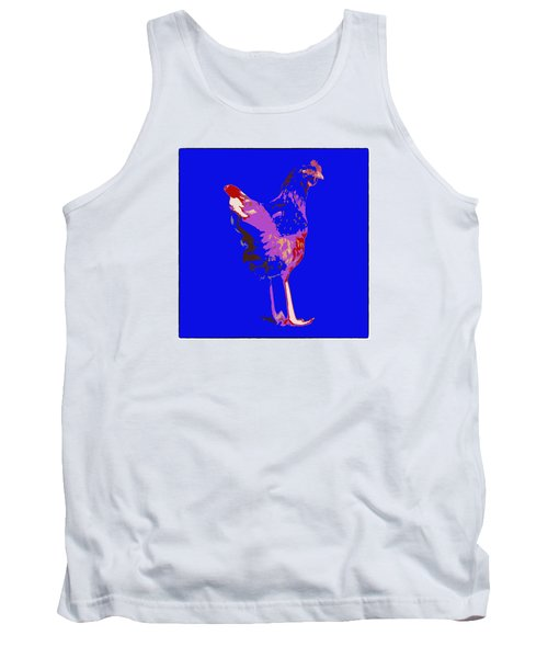 Chicken With Tall Legs Tank Top