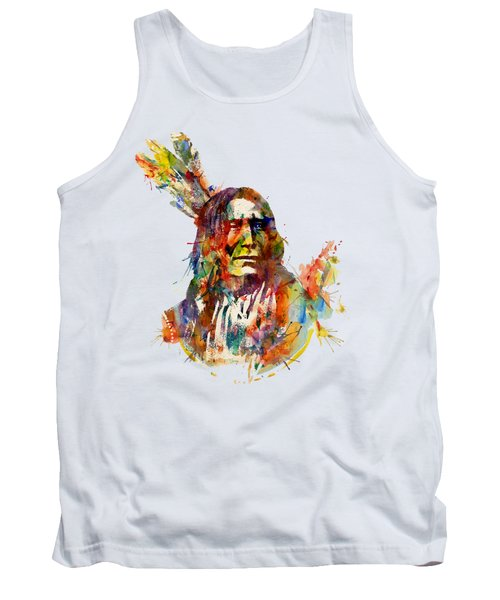 Chief Mojo Watercolor Tank Top