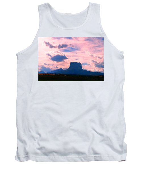 Chief Mountain, Pastel Tank Top