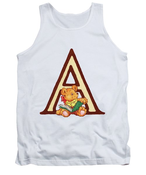Children's Letter A Tank Top