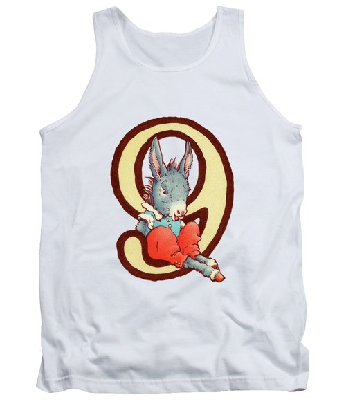 Children's Number 9 Tank Top by Andrea Richardson