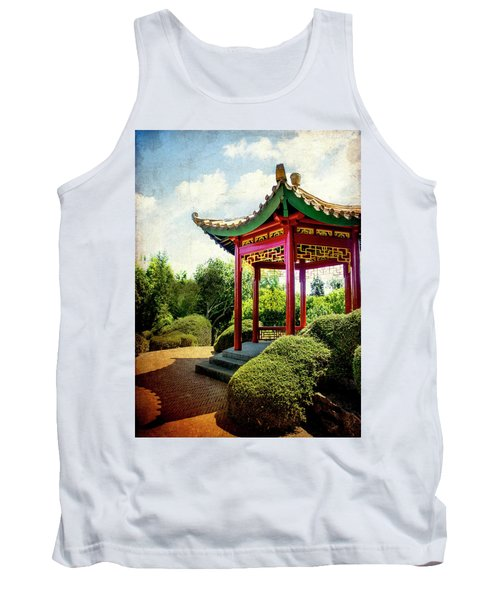 China In New Zealand Tank Top