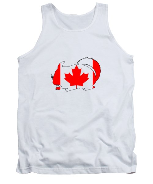 Chinchilla Canada Tank Top by Mordax Furittus