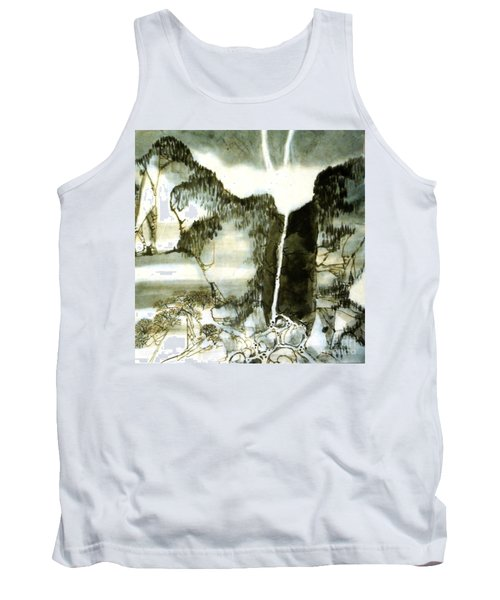 Chinese Landscape #2 Tank Top