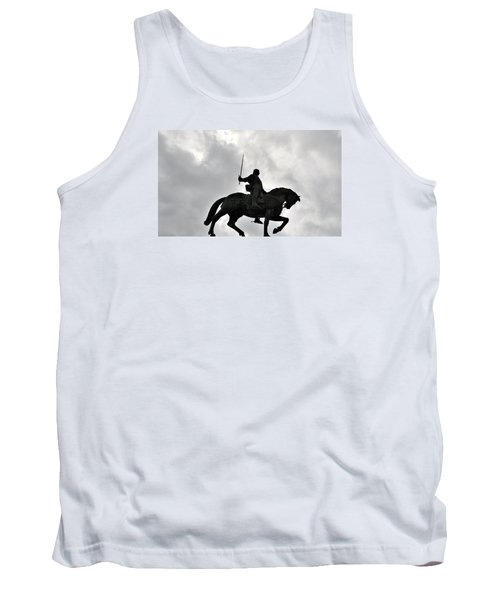 Tank Top featuring the photograph Chivalry by Marwan Khoury