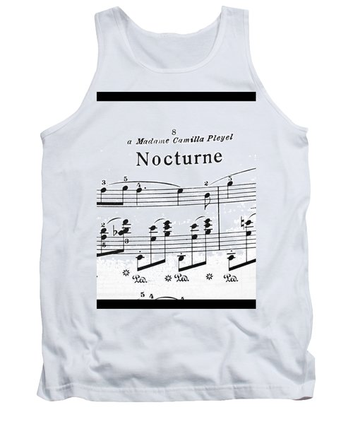 Chopin Nocturne Part 2 Tank Top