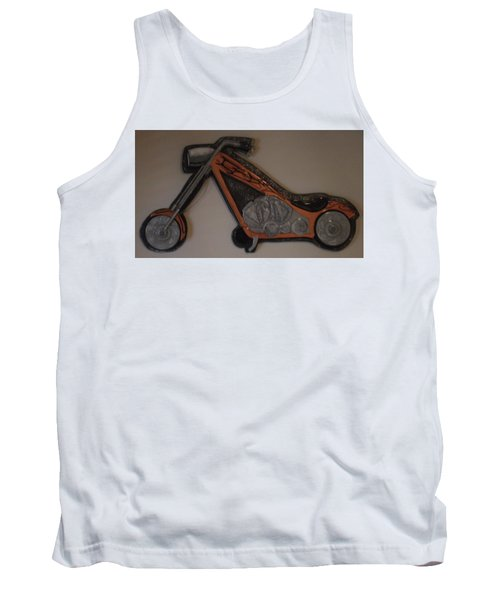 Chopper2 Tank Top by Val Oconnor