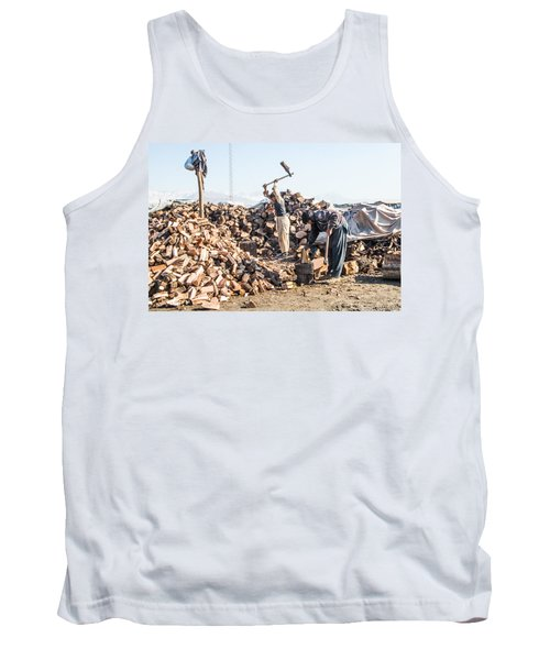 Chopping Wood Tank Top