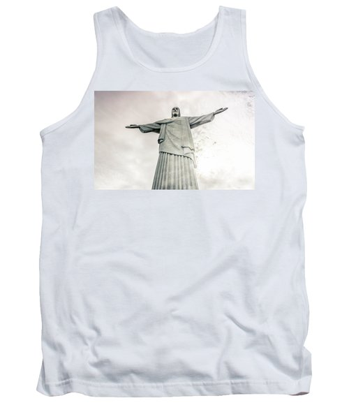 Tank Top featuring the photograph Christ The Redeemer by Andrew Matwijec