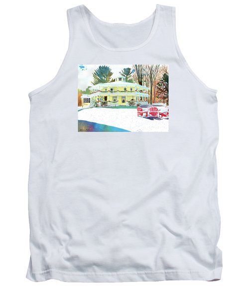 Christmas At The Hexagon House Tank Top