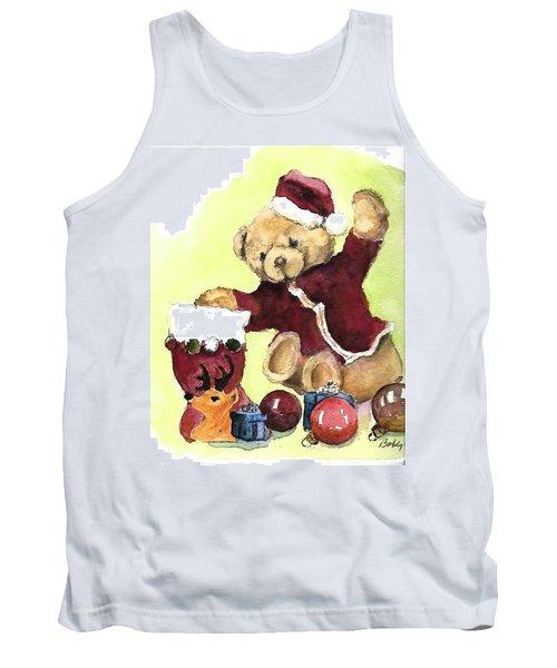 Christmas Bear Tank Top