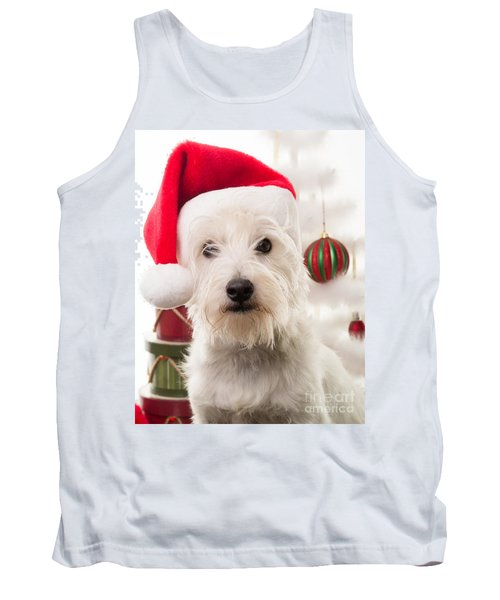 Christmas Elf Dog Tank Top
