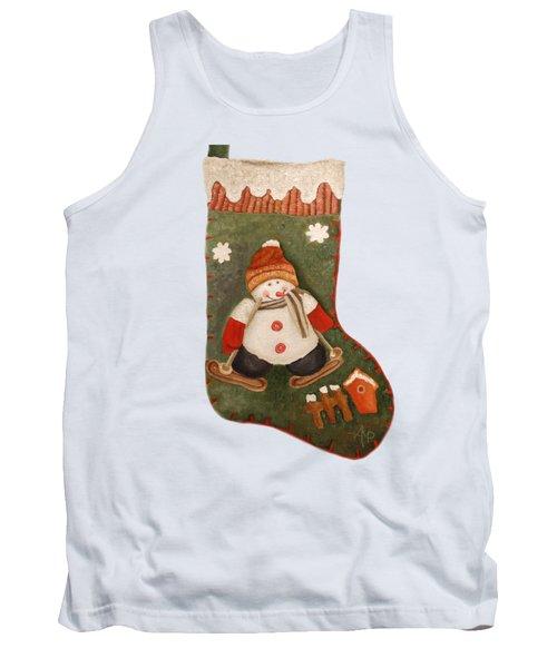 Christmas Stocking Tank Top