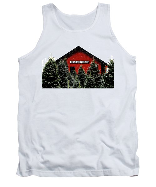 Christmas Town Tank Top by Dale R Carlson
