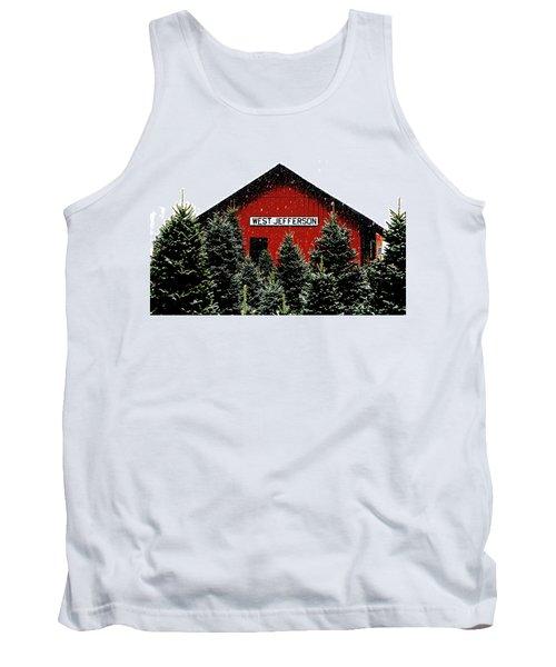 Christmas Town Tank Top