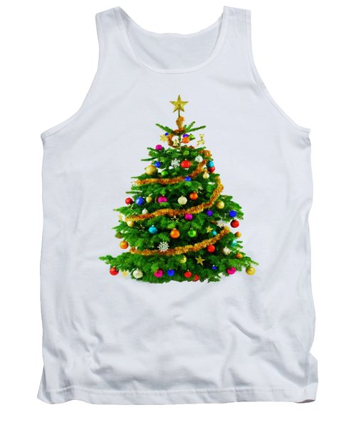 Christmas Tree 1417 Tank Top by Rafael Salazar