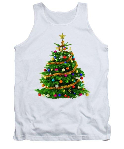 Christmas Tree 1417 Tank Top