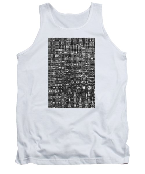 Tank Top featuring the photograph Chromosome 22 Bw by Diane E Berry