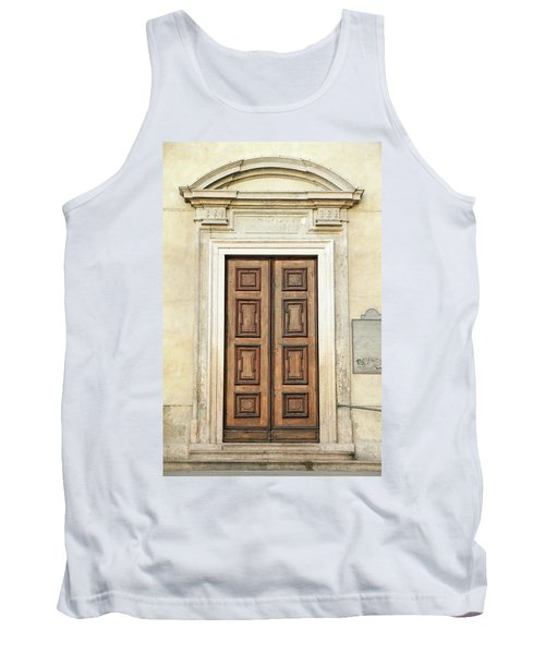 Church Door Tank Top by Valentino Visentini