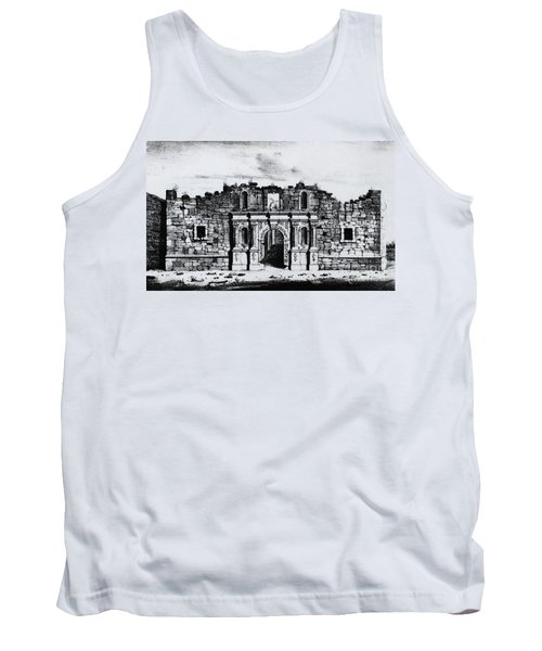 Church Of The Alamo Tank Top