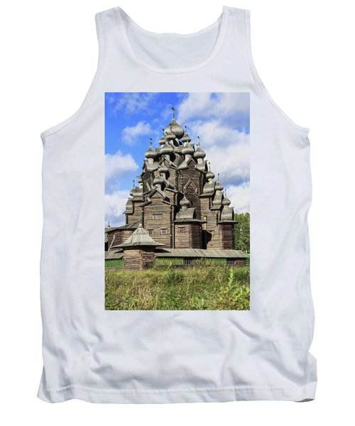 Church Of The Intercession Of The Blessed Virgin Mary, A Unique Monument Of Church Architecture Of A Tank Top