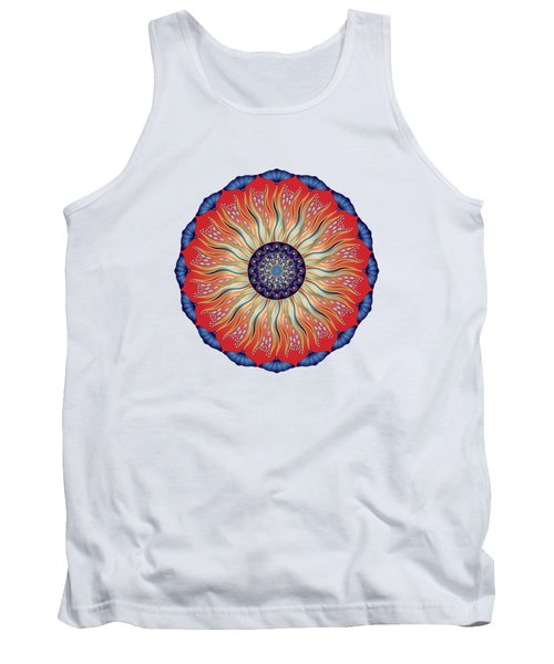 Circularium No. 2627 Tank Top by Alan Bennington