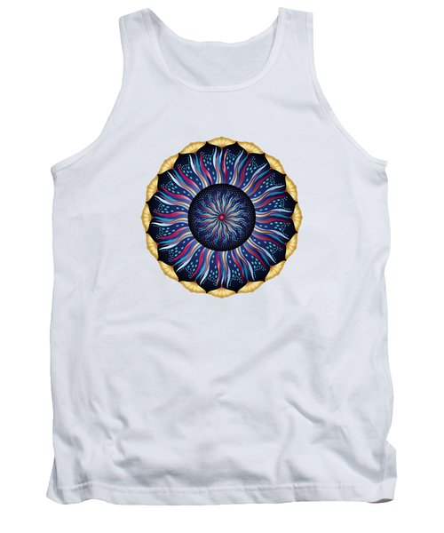 Circularium No 2633 Tank Top by Alan Bennington