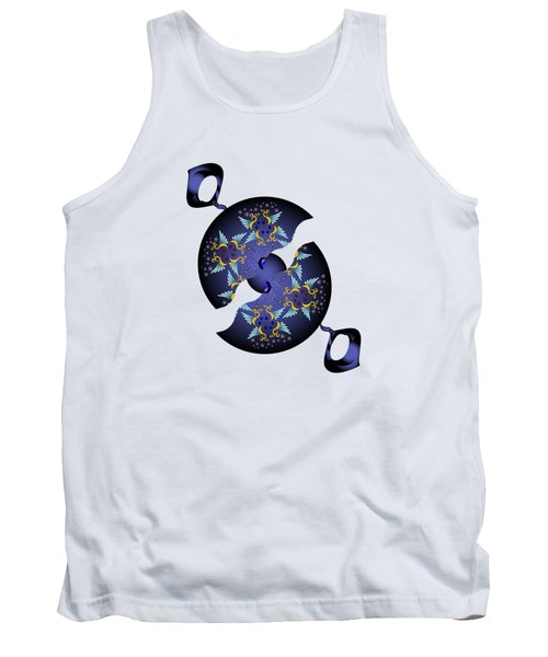 Circularium No 2634 Tank Top by Alan Bennington