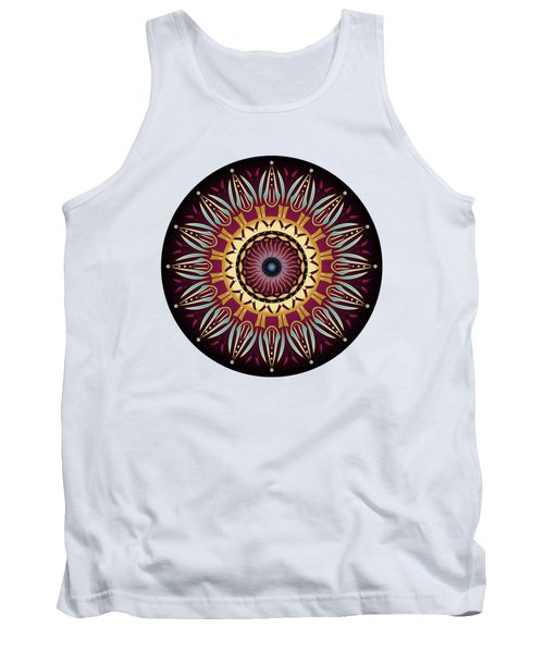 Circularium No 2639 Tank Top by Alan Bennington